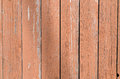 Brown painted boards peeling from weather Royalty Free Stock Photo