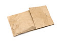 Brown paper bag isolated on white Stock Photography