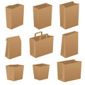 Brown paper bags Royalty Free Stock Image