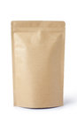 brown paper food bag Royalty Free Stock Photo