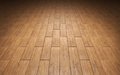 Brown parquet floor close up background Royalty Free Stock Photos