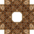 Brown pattern Royalty Free Stock Photo