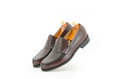 Brown penny loafer Royalty Free Stock Photo
