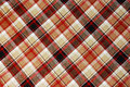 Brown plaid pattern Royalty Free Stock Image