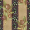 Brown and purple olive pattern