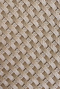 Brown rattan weave seamless pattern background. Royalty Free Stock Photo