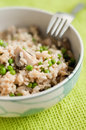 Brown rice in the bowl Royalty Free Stock Photo