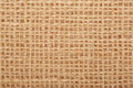 Brown rustic fabric texture background burlap Stock Image
