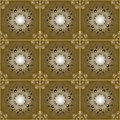 Brown seamless pattern Stock Image