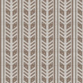 Brown shade and white feather shape vertical striped with spot k