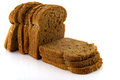 Brown slices bread Royalty Free Stock Photo