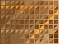 Brown squares Royalty Free Stock Photos