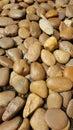 Brown stones Royalty Free Stock Photo