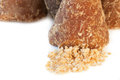 Brown sugar, Piloncillo mexican Royalty Free Stock Photo