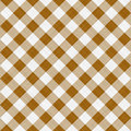 Brown table cloth Royalty Free Stock Photo