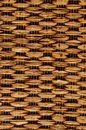 Brown Textured Braided Vimini Background Royalty Free Stock Photo