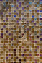 Brown Toned Glass Tile Background-Vertical Royalty Free Stock Image