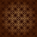 Brown vector vintage background with gradient dark eps Stock Photography