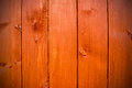Brown vertical planks for background or texture Stock Photos