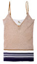 Brown vest Royalty Free Stock Photography