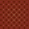 Brown Vintage Seamless Pattern Royalty Free Stock Photo