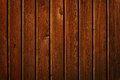 Brown wall of wooden planks a Stock Images