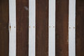 Brown and white wooden wall, striped background of wooden plank Royalty Free Stock Photo