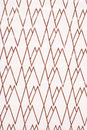 Brown and white zig zag abstract pattern Royalty Free Stock Images