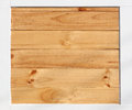 brown wood background in white frame wooden. Royalty Free Stock Photo