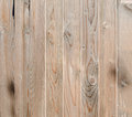 Brown wooden fence, close up, texture, background. Natural wood. Vertical bars Royalty Free Stock Photo