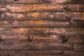 Brown wooden horizontal boards. Texture for the background. Horizontal frame