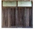 Brown Wooden Window Ancient