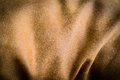 Brown wrinkle fabric Royalty Free Stock Photo