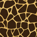 A brown and yellow giraffe spotted background seamlessly repeatable Stock Photography