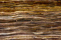 Brownish pages of old ancient book close up shot the an bible Stock Image