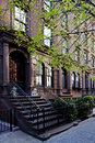 Brownstone townhouse Royalty Free Stock Photo