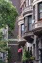Brownstones Manhattan NY Royalty Free Stock Photography