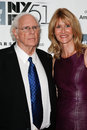 Bruce dern laura dern new york oct actors and attend the nebraska premiere at the st annual new york film festival at alice tully Stock Photography