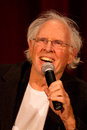 Bruce dern after sag nebraska screening in manhattan during q a Royalty Free Stock Photography