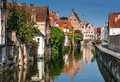 Bruges canal, Belgium Royalty Free Stock Photo