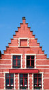 Bruges house on the market square in Royalty Free Stock Photos