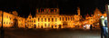 Brugge town hall at night Royalty Free Stock Photo