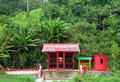 Brunei. Chinese Temple / Shrine (rural) 2of3 Royalty Free Stock Photography