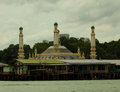Brunei s water village with mosque called kampong ayer in bandar seri begawan famed on villages are fully self sufficient their Stock Images