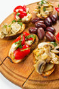 Bruschetta Closeup Royalty Free Stock Photo