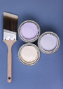 Brush and paint Royalty Free Stock Image