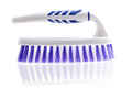Brush for washing on a white background scrub cleaning Royalty Free Stock Images