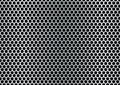 Brushed hexagon background Royalty Free Stock Images