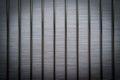 Brushed metal bars vignette steel Royalty Free Stock Photography