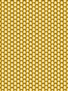 Brushed metal gold, flake texture  seamless. Vector illustration Royalty Free Stock Photo